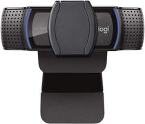 Webcam logitech c920s  c/ 2 microfones  c/ autofoco full hd 1080p -