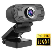 Webcam Microfone Câmera Full Hd 1080p Computador Plug & Play Microfone Embutido - Lx Shop