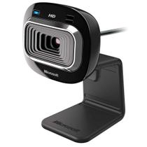 Webcam Microsoft LifeCam HD-3000 T3H-00011 com Microfone Integrado