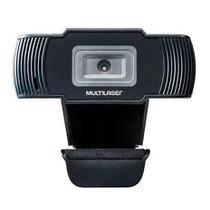 Webcam Multilaser 1280x720 30fps Cabo 1,7m Usb 2.0 Ac339 -