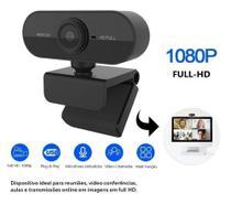 Webcam Para Pc Notebook Tv Jogos Celular Full Hd E Microfone - WsdCam