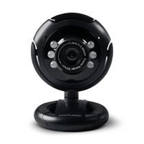 Webcam Plug E Play 16Mp Nightvision Microfone USB WC045 - Multilaser -