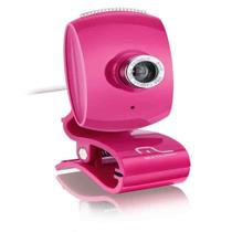 Webcam Plug Play Pink Piano - Wc048 - Multilaser