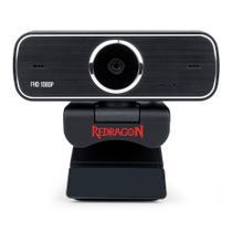 Webcam Streaming Redragon Hitman Full HD 1080p USB GW800 -