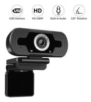 Webcam Usb 1080p Mini Câmera Pc Full Hd