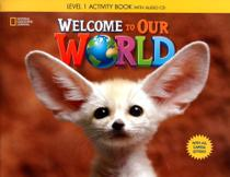 Welcome to Our World 1 - Workbook with Audio CD - ALL CAPS - Cengage -