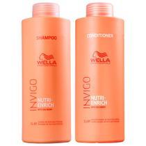 Wella Duo Shampoo E Condicionador Invigo Nutri Enrich 1000ml -