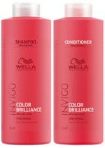 Wella Invigo Color Brilliance Shampoo (1000ml) e Condicionador (1000ml)