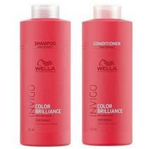 Wella Invigo Color Brilliance Shampoo 1l+ Condicionador 1 L -