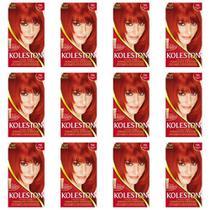 Wella Koleston Coloração 7744 Vermelho Super Intenso Novo (Kit C/12) -