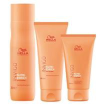 Wella Professionals Invigo Nutri-Enrich Kit - Shampoo + Condicionador + Creme -