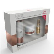 Wella Professionals Kit Fusion - Shampoo 250ml+Mascara 150ml+Oil Reflections 30ml -