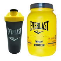 Wey protein concentrado everlast 900g sabor brigadeiro -