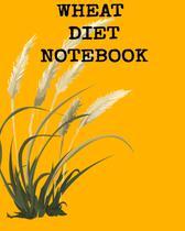 Wheat Diet Notebook - Inge baum