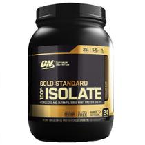 Whey 100% isolate gold standard (744g) - optimum nutrition