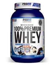 Whey 100% Premium sabor Cookies and Cream 907g - Profit