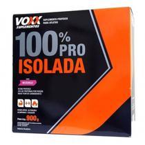 Whey 100 Pro Isolada Voxx Suplementos - 900g -