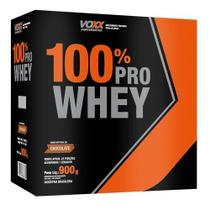 Whey 100% PRO Isolada Voxx Suplementos Sabor Chocolate 900gr -