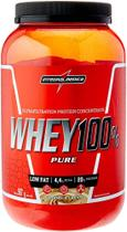 whey 100% pure 907g integral medica - proteina concentrada - coockies & cream - Integralmedica