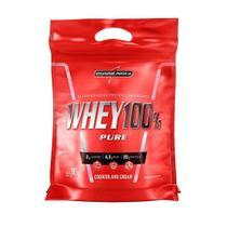 WHEY 100% PURE (907g - Refil) - Cookies & Cream - IntegralMedica -