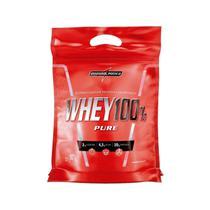 Whey 100% Pure Concentrado Morango Refil 907g - Integralmedica - Integralmédica