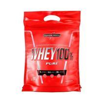 Whey 100% pure integralmedica 907g refil - cappuccino -