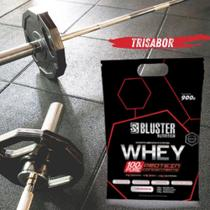Whey 100% pure pouch 900g trisabor - bluster - Baunilha