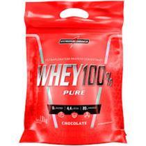 Whey 100% Pure Refil 1800 kg Chocolate Integral Super Oferta - Integralmedica