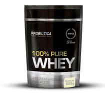 Whey 100% Pure Refil 825g Baunilha Probiótica -