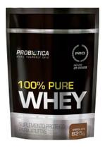 Whey 100% Pure Refil 825g Chocolate Probiótica - Probiotica