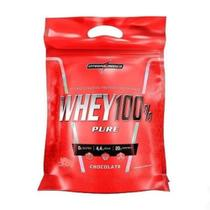 Whey 100% Pure Refil (907g) Chocolate - Integralmédica -