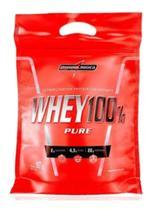 Whey 100% Pure Refil 907g - Integralmédica Super Proteína -