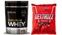 Whey 100% pure whey  825g refil probiotica + dextrozz 1 kl integralmedica -