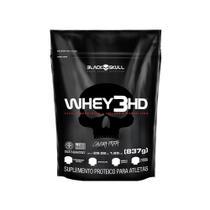 Whey 3HD Refil (837g) - Black Skull -
