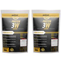 whey 3w isolado concentrado hidrolisado 4kg active - Active Nutrition