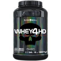 Whey 4hd - 907g (whey protein isolado e concentrado) - BLACK SKULL