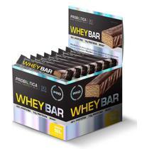 Whey Bar 40G Caixa 12 Unidades - Probiótica -