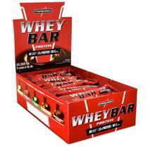 Whey Bar Chocolate 24 un- Integralmedica -