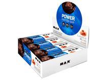 Whey Bar Protein Power 90gr - Caixa 8 Unidades Max Titanium -