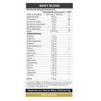 Whey Blend 2 kg - Max Titanium -