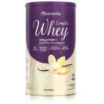 Whey Complete - 450g Baunilha - Sanavita -