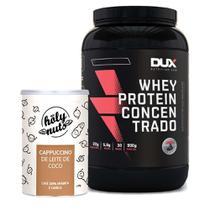 Whey Concentrado 900g Cookies + Cappuccino 120g - Dux Nutrition