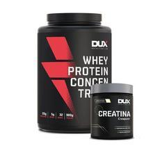 Whey Concentrado 900g + Creatina 100g - DUX - Dux Nutrition