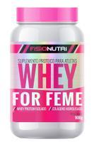 Whey femme - whey protein isolado com colágeno hidrolisado - baunilha - Fisionutri - Femme Whey