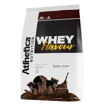 Whey flavour atlhetica 850 g - milk-shake de chocolate -