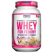 Whey For Feminy 907g - Baunilha - Profit -