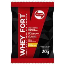 Whey Fort 100% Whey Protein Premium 30g - Vitafor