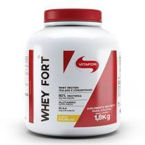 Whey fort 1,8 kg - vitafor (baunilha) -