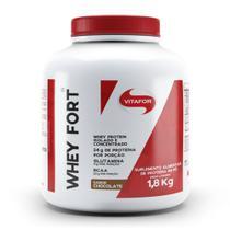 Whey Fort 1800g Chocolate Vitafor -