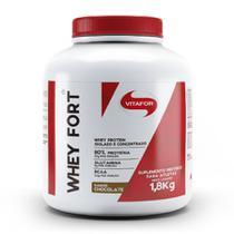 Whey Fort 1,8kg Chocolate - Vitafor -